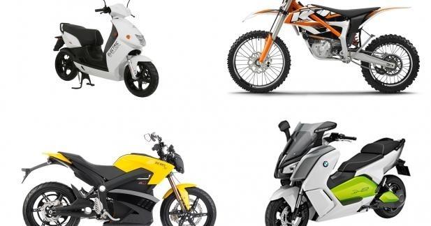 Marché 2014 : top des ventes scooters et motos électriques