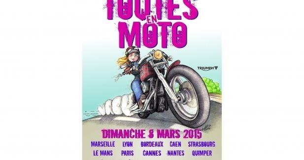 Toutes en moto 2015 : rendez-vous le 8 mars