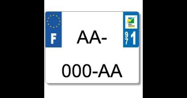 Uniformisation des plaques d'immat 2 et 3-roues au 1er juillet 2015