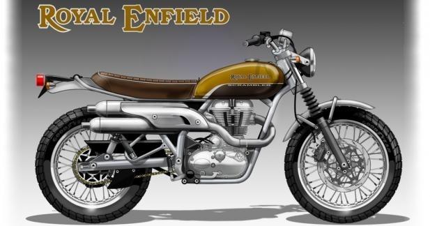Royal Enfield : un scrambler et deux nouveaux moteurs pour 2016 ?