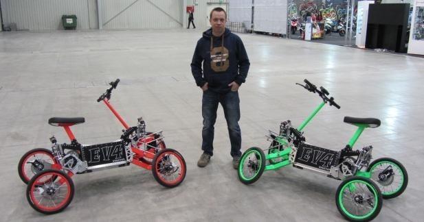 EV4 : le scooter électrique venu de Pologne