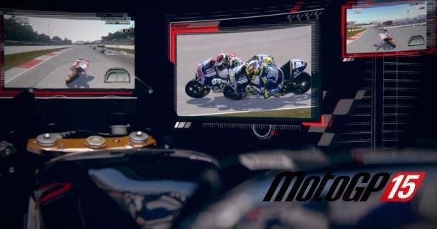 Teaser jeu vidéo MotoGP15 : il arrive bientôt !