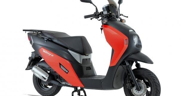 Nouveau scooter Daelim : le Witty 50 arrive !