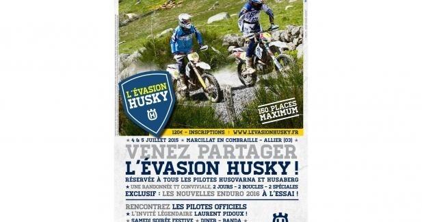 L'Evasion Husky : 1ère rando enduro par Husqvarna France