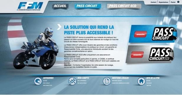 Pass Circuit : l'assurance piste facile