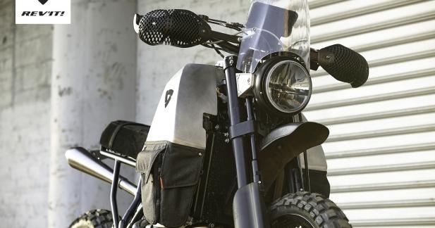 rev it 95 le n erlandais d voile sa moto deux roues motrices. Black Bedroom Furniture Sets. Home Design Ideas