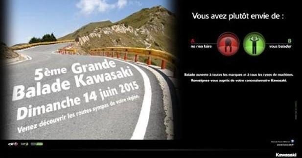 Kawasaki : 5è grande balade le 14 juin
