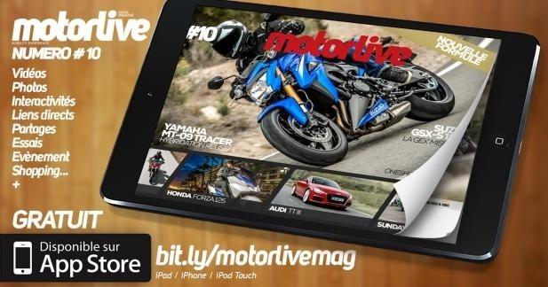 Motorlive Mag est disponible sur le Kiosque iTunes
