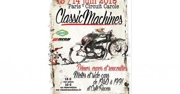 Classic Machines : achetez votre place moins cher dès maintenant