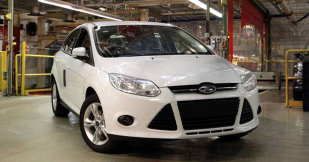 Ford a démarré la production de la Focus 1 L EcoBoost