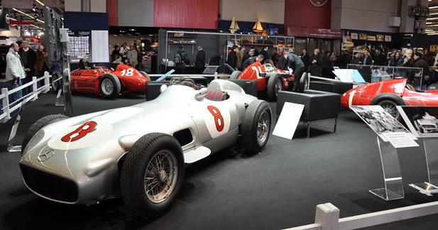 Juan Manuel Fangio célébré à Rétromobile