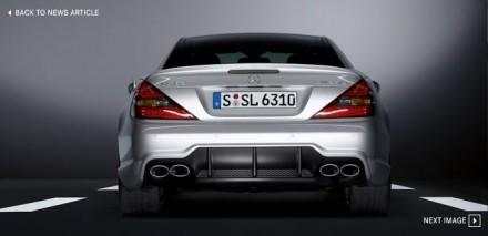 525 ch pour la Mercedes SL63 AMG