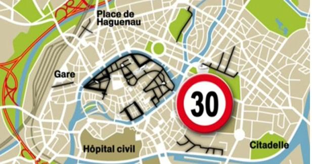 Strasbourg dit non à la limitation à 30 km/h