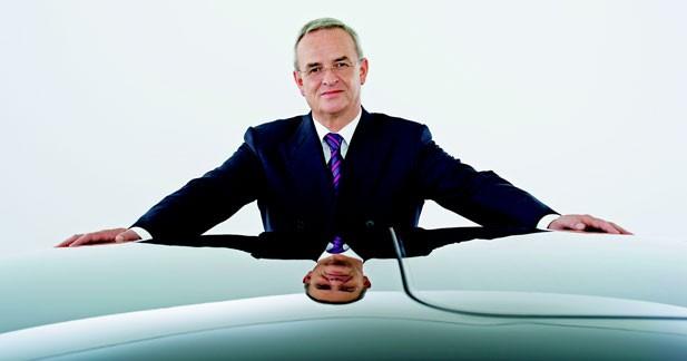Martin Winterkorn prolongé à la tête de Volkswagen