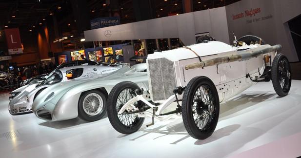120 ans de compétition automobile chez Mercedes à Rétromobile