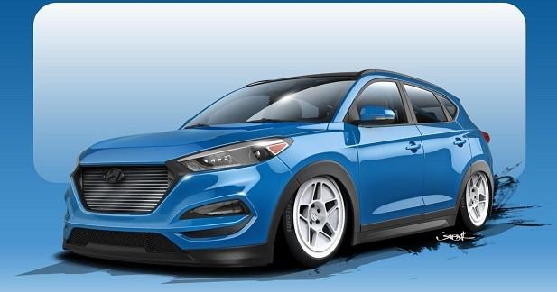 Un Hyundai Tucson de 700 ch au SEMA Show