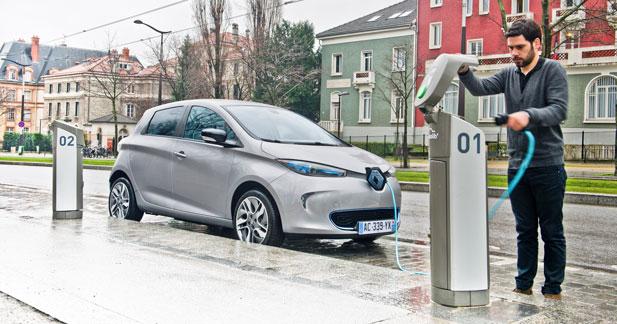 La Renault Zoé dans le top 100 des ventes en France