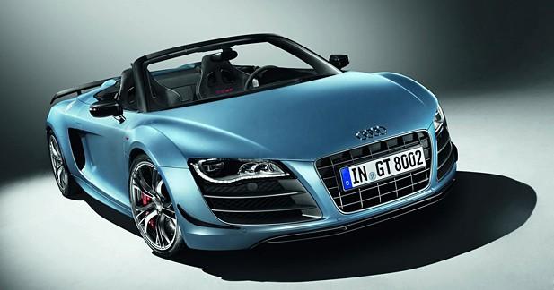 Audi R8 GTS Spyder : agressive et légère