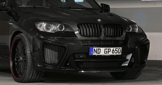 900 ch pour le BMW X6M vu par G-Power