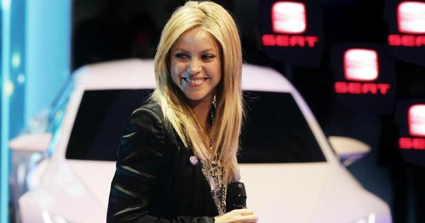 A Genève, Shakira fait la promo de Good Stuff chez Seat