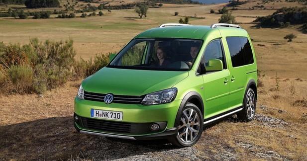 Le Volkswagen Cross Caddy dévoile ses tarifs