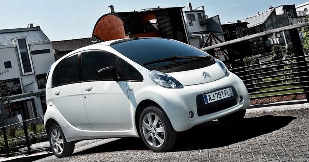 La Citroën C Zéro descend à 16 300 euros