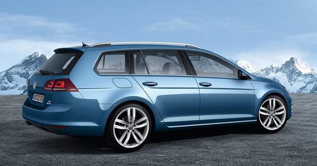 Prix : La Volkswagen Golf SW
