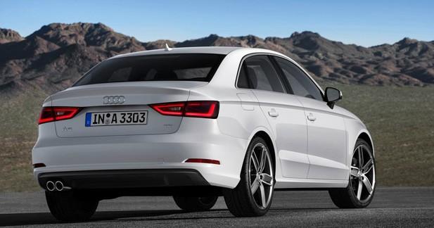 L'Audi A3 tricorps dévoile ses tarifs