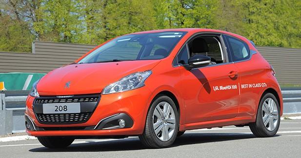 Record du monde de consommation pour la Peugeot 208