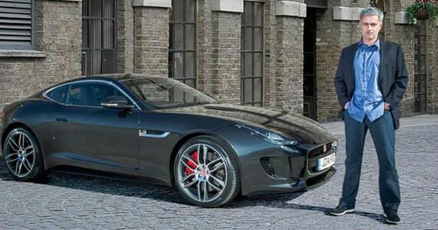 jaguar s 39 allie jos mourinho pour un jeu concours sur la coupe du monde. Black Bedroom Furniture Sets. Home Design Ideas