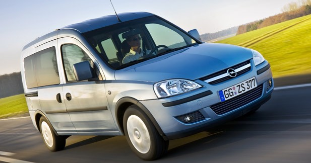 Le futur Opel Combo parlera italien