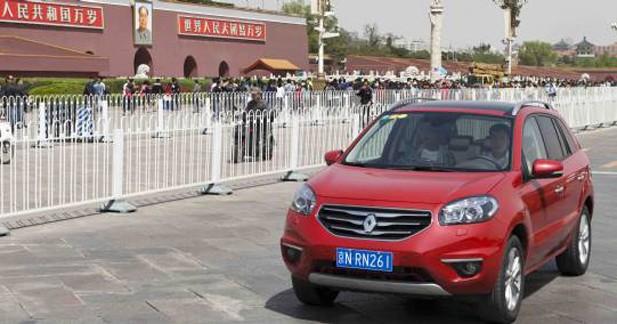 Renault s'associe à Dongfeng pour produire des modèles en Chine