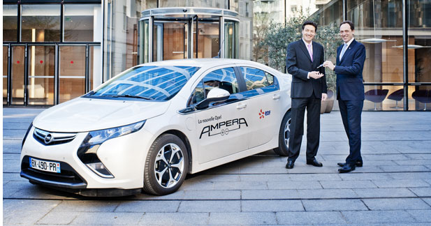 EDF va tester l'Opel Ampera