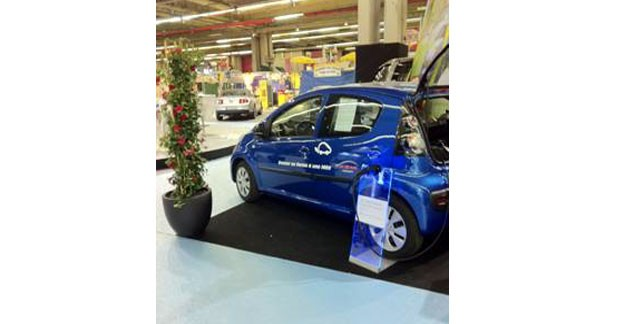 L'auto partage de VE à la Foire de Paris