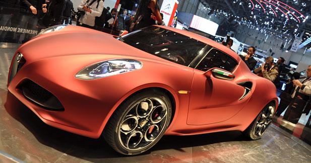 Alfa Romeo 4C : la surprise du Chef !