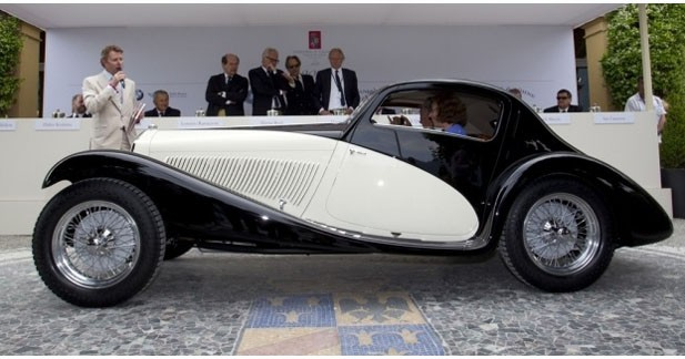 Une Alfa Romeo remporte le concours d'élégance de Villa d'Este