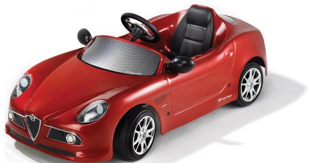 Insolite : une Alfa Rome 8C Competizione pour vos enfants