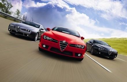 Alfa Romeo Brera S : en cure chez Prodrive
