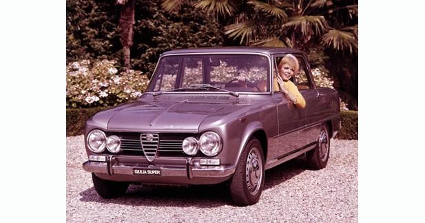 L'Alfa Romeo Giulia célèbre ses 50 ans