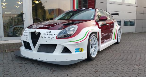 L'Alfa Romeo Giulietta s'attaque au sport automobile