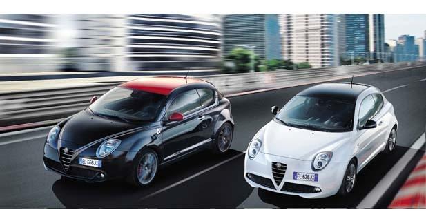 Alfa Romeo commercialise deux séries limitées pour la petite MiTo