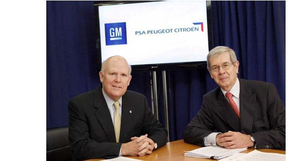 PSA et GM étendent le champ de leur alliance