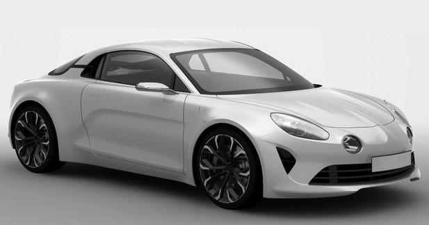 Alpine Célébration: les premières images du modèle de série?
