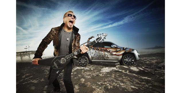 Le groupe Scorpions débarque sur le Dakar