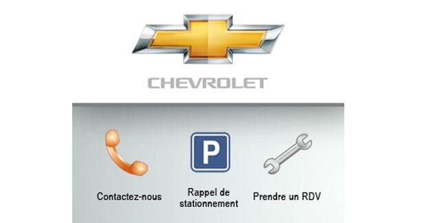Une application smartphone pour les clients de Chevrolet