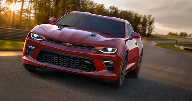La nouvelle Chevrolet Camaro se montre enfin officiellement