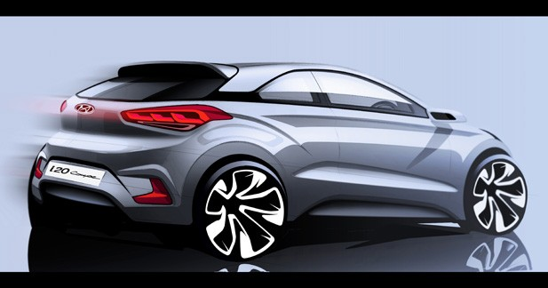 Mondial Auto 2014 : Hyundai i20 coupé, place au sport