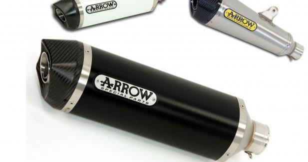 Arrow équipe les nouvelles Honda CB500F et CBR 500R