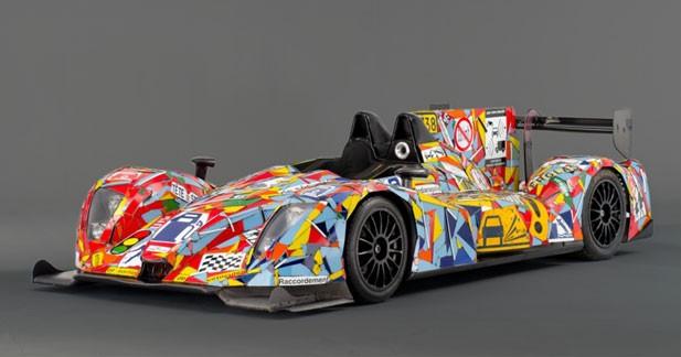 Voici la Art Car d'Oak Racing pour Le Mans