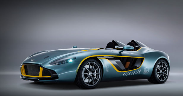 Aston Martin CC100 : un proto radical mais stylé pour le centenaire